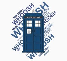 Tardis Whoosh sound Doctor Who One Piece - Short Sleeve