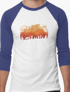 Nine Companions Men's Baseball ¾ T-Shirt