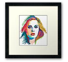 Adele WPAP Framed Print