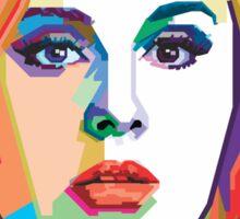 Adele WPAP Sticker