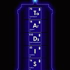 Tardis Elements - iPhone Cover by BlueShift
