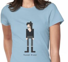 Russell Brand - 8 Bit Pixel Artwork Womens Fitted T-Shirt
