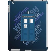 Tardis Whoosh sound Doctor Who iPad Case/Skin