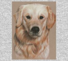 Golden Retriever Portrait by Nicole Zeug