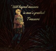 Luna Lovegood With Quote iPad Case By MyLittleFandoms by MyLittleFandoms