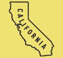California - My home state Kids Tee