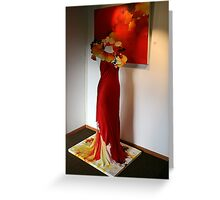 Enticing Textiles  Greeting Card