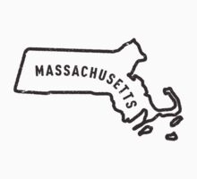Massachusetts - My home state Kids Clothes