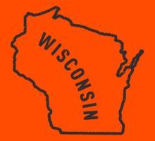 Wisconsin - My home state Kids Tee