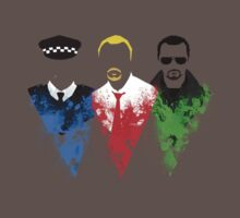 Three Flavours Cornetto T-Shirt