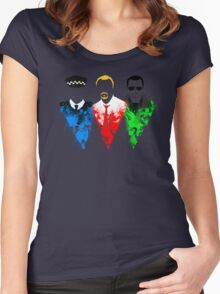 Three Flavours Cornetto Women's Fitted Scoop T-Shirt