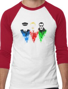 Three Flavours Cornetto Men's Baseball ¾ T-Shirt