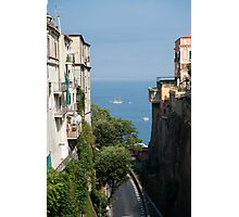 Sorrento Views Photographic Print
