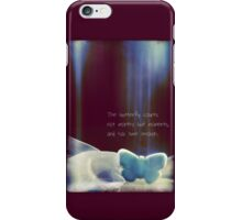 Spirit of the Butterfly iPhone Case/Skin