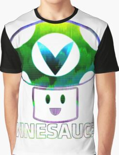 Vinesauce Glitch [UNOFFICIAL] Graphic T-Shirt