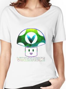 Vinesauce Glitch [UNOFFICIAL] Women's Relaxed Fit T-Shirt