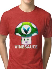 Vinesauce Glitch [UNOFFICIAL] Tri-blend T-Shirt