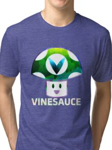 Vinesauce Glitch [UNOFFICIAL] Tri-blend T-Shirt