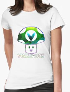 Vinesauce Glitch [UNOFFICIAL] Womens Fitted T-Shirt