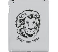 Lannisters black iPad Case/Skin