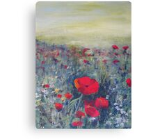 Poppies - Early summer Canvas Print