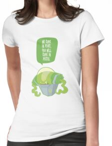 Alien General Womens Fitted T-Shirt