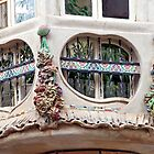 Artistic windows in Palma de Mallorca - Spain by Arie Koene