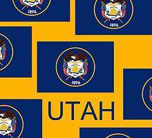 Smartphone Case - State Flag of Utah VI by Mark Podger