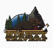 Mighty Beavers T-shirt by evanaert