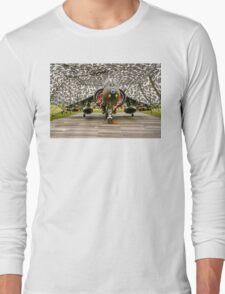 Harrier GR.7 ZD407 hiding Long Sleeve T-Shirt