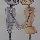 Robot Romance by Andy  Housham