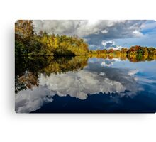 Cloudy Waters Canvas Print