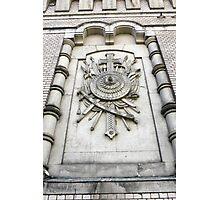 heraldic relief Photographic Print