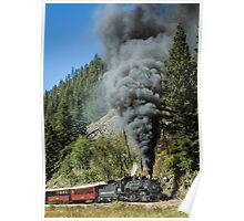 Black Smoke, 480 Chugging Uphill Poster