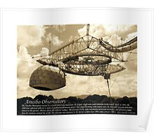 Arecibo Radio Telescope Poster