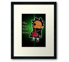 Chibi Tobi Framed Print