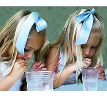Party Girls Photographic Print