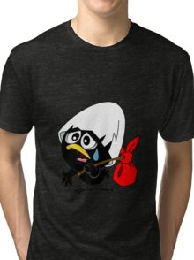 Sad black chicken Tri-blend T-Shirt
