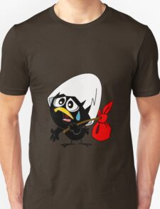 Sad black chicken Unisex T-Shirt