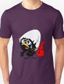 Sad black chicken Unisex T-Shirt