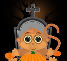 Halloween Monkey by Adamzworld