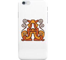 monogram A,A. iPhone Case/Skin