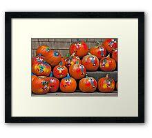 Goofy Crowd Framed Print