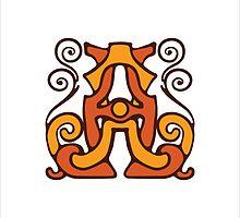 monogram A,A. by Rif Khasanov