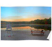 Sunrise at Elm Beach Poster