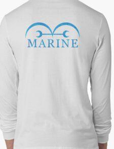 One Piece Marine Logo Long Sleeve T-Shirt