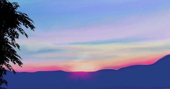 Sunset - Part Deaux by emilybrownart