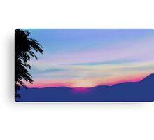 Sunset - Part Deaux Canvas Print