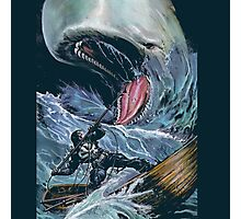 in the heart of the sea Mobydick VS Frank Castle ilustration Photographic Print