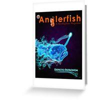 The Anglerfish Issue 8 - Anglerfish Patronus Greeting Card